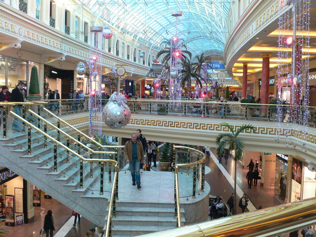 shops reopening in the Trafford Centre