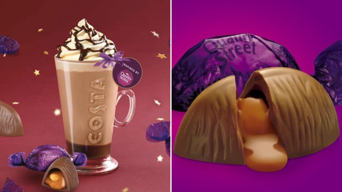 The new Costa Christmas cups are back! Plus new treats like
