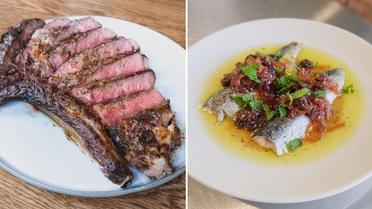 Dishes from Erst in Ancoats